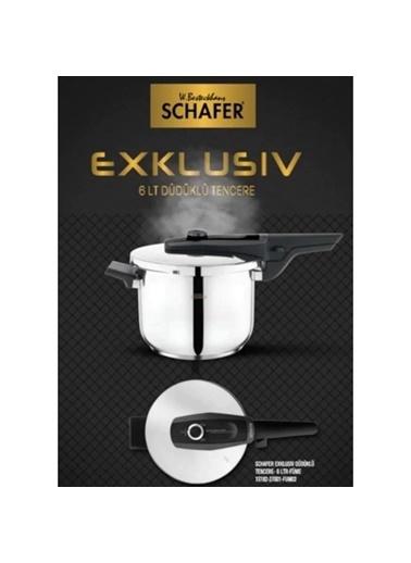 Schafer schafer-exklusiv4.5 Schafer Exklusiv 4.5 Litre Düdüklü Tencere 3 Farklı Renk Altın